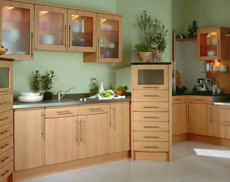 Optional features include a pierced glazed door and modern styled cornice. The character of the door is very solid making it versatile. & RG Coles PWS Kitchen Department - Second Nature Kitchens - Opera